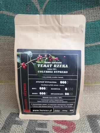 Kawa Dolla mielona - Temat Rzeka COLUMBIA SUPREMO