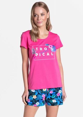 Piżama damska Henderson Tropicana różowa
